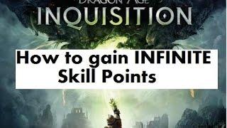 Dragon Age Inquisition glitch INFINITE Skill Points bug exploit cheat DA:I