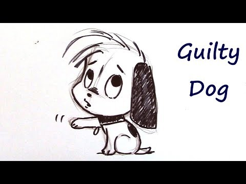 How To Draw A Cute Puppy Dog - For Beginners
