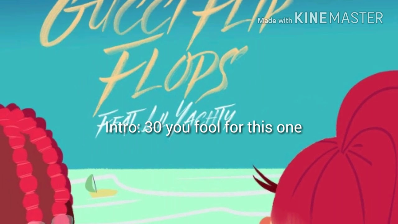 da367b84ca24ca Bhad Bhabie - Gucci Flip Flops