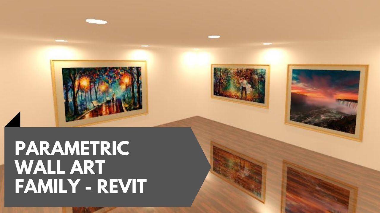 Wall Art Family In Revit Tutorial Bring Life To Dead