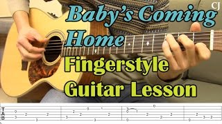 Скачать Baby S Coming Home With Tab Watch And Learn Fingerstyle Guitar Lesson Camilo James