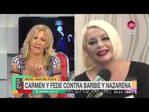 Carmen y Fede contra Barbie y Nazarena