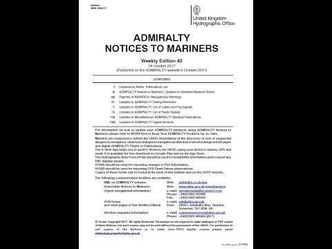 Notice to Mariners