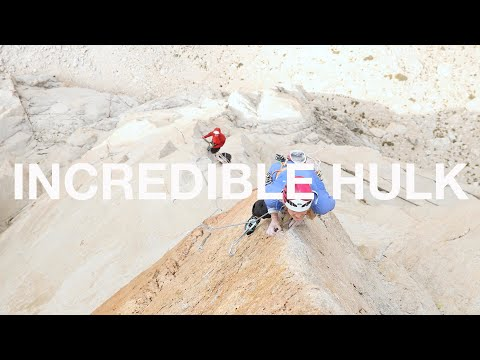 "The Incredible Hulk - Emily Harrington and Alex Honnold Free Climb ""Solar Flare"" (5.12d)"