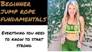 How to start jumping rope for beginners