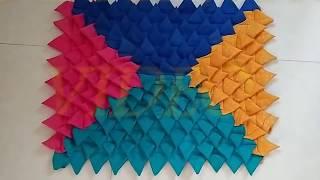 पुराने कपड़ों का करे गजब का इस्तेमाल/Old clothes recycling ideas/how to make Door mat/rug/carpet