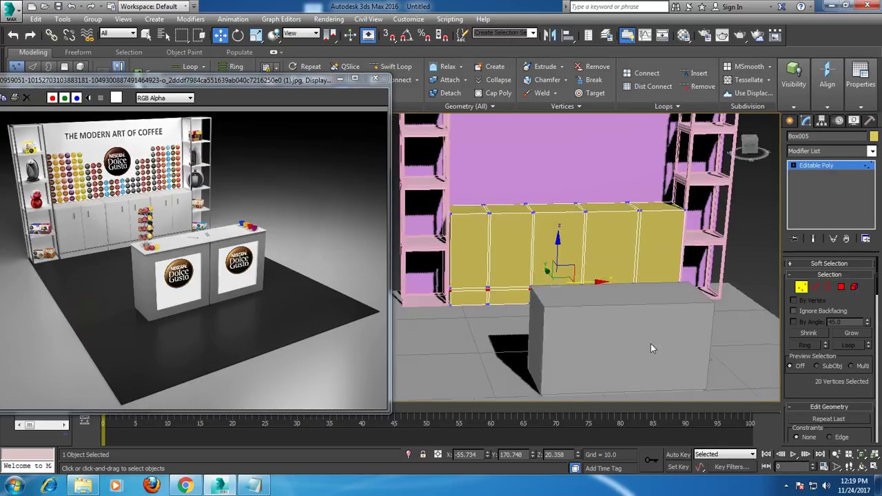D Max Exhibition Stand Tutorial : Tutorial on modeling a d exhibition stand in dsmax