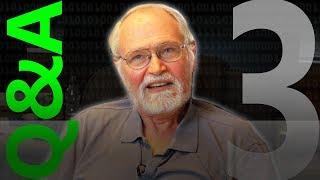 Brian Kernighan Q&A 3/3 - Computerphile