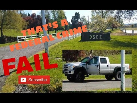 Your committing a FEDERAL CRIME! 1st Amendment Audit[Oregon State Correctional Institution]