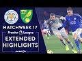 Leicester City v. Norwich City | PREMIER LEAGUE HIGHLIGHTS | 12/14/19 | NBC Sports