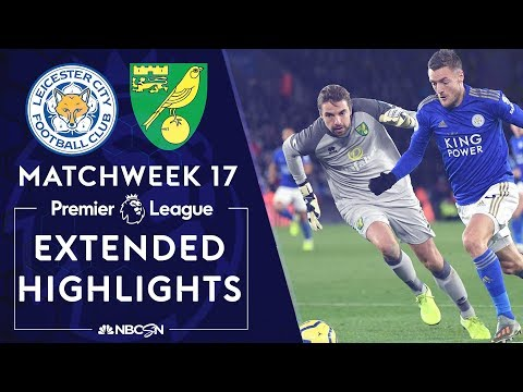 Leicester City v. Norwich City | PREMIER LEAGUE HIGHLIGHTS | 12/14/19 | NBC Sports