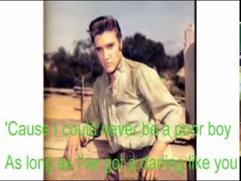 Poor Boy-Elvis Cover With Lyrics (Pattarasila59)
