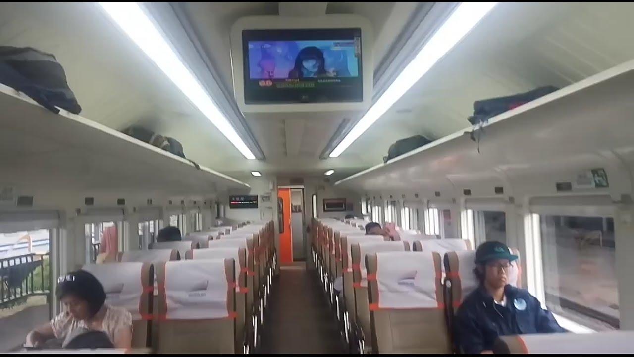 Kereta Api : Indonesian Railway - Interior Kereta Ekonomi