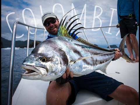 Crushing balls while fighting a Rooster fish - COLOMBIA 2018!