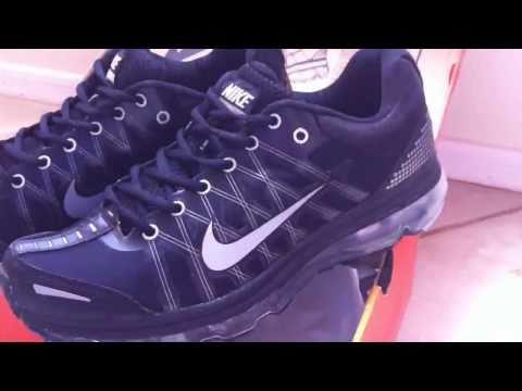 Nike Air Max Black Running Shoes