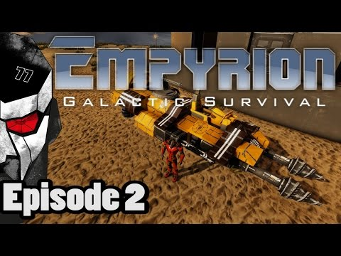 Empyrion Galactic Survival #2 - HOW TO BUILD A HOVERCRAFT TUTORIAL