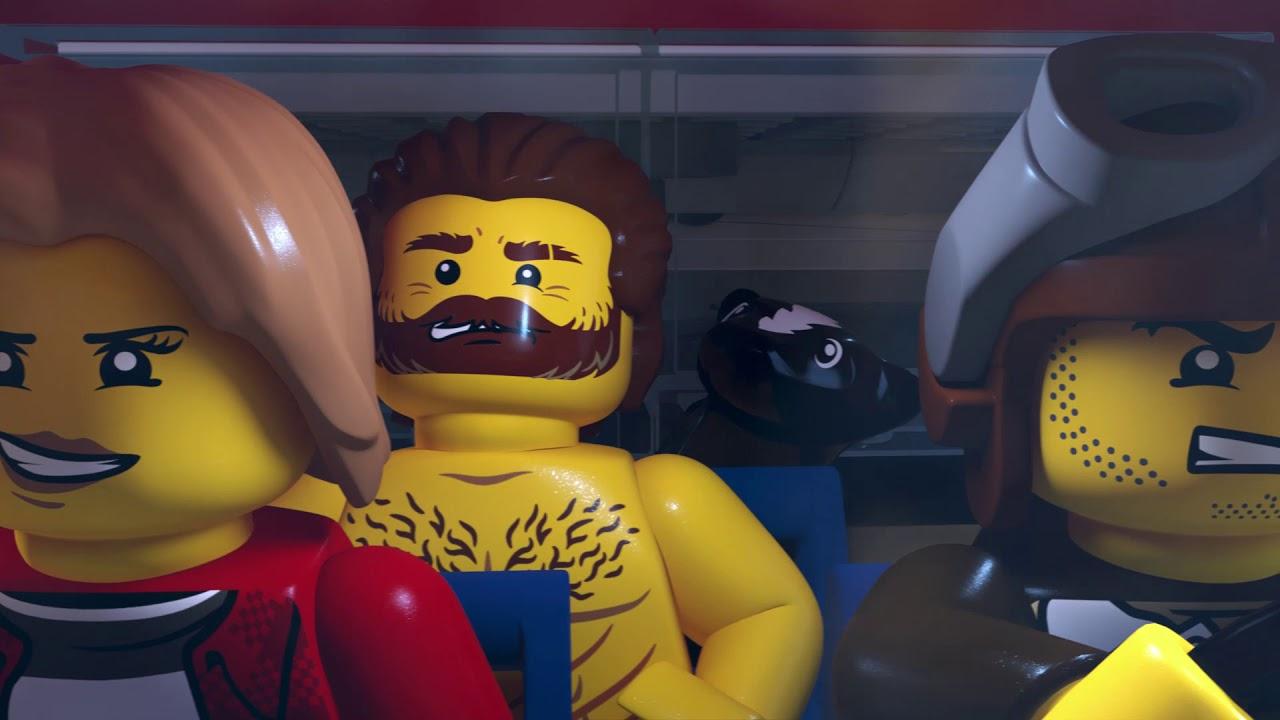 Zwariowane przygody z górską policją — CZĘŚĆ DRUGA! — LEGO City #1