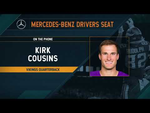 Vikings - VIDEO: Kirk Cousins chats overtime victory with Dan Patrick | #KFANVikes