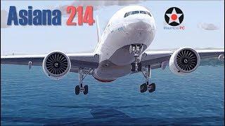 Novice error - Asiana flight 214 (Reconstruction)