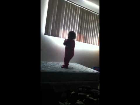 Baby Falls Off Edge of Bed