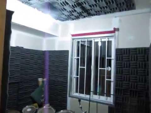 Como acondicione una habitacion para tocar bateria - YouTube