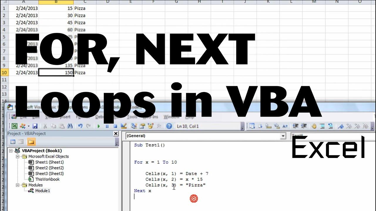 Excel Vba Basics 3