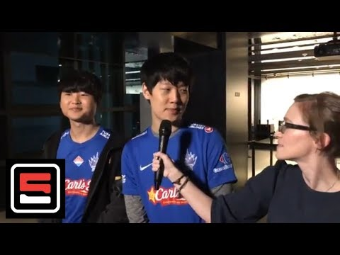 SuperMassive GBM and SnowFlower on their upset against G2 Esports | Esports | ESPN