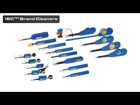 IBC™ Brand Cleaners: Solution to Dirty Fiber Optic Connector