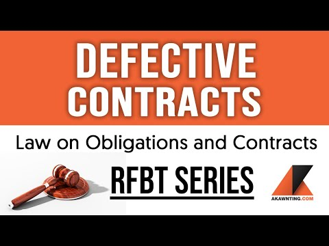 Defective Contracts (2020)