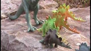 Dinosaur March (stop-motion animation)