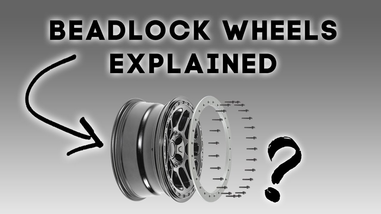 How Bead Lock Wheels Work - Explained in 3 MInutes