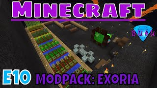 Magical wood & basic transporting - Minecraft | Modded | Exoria | Let's Play | E10