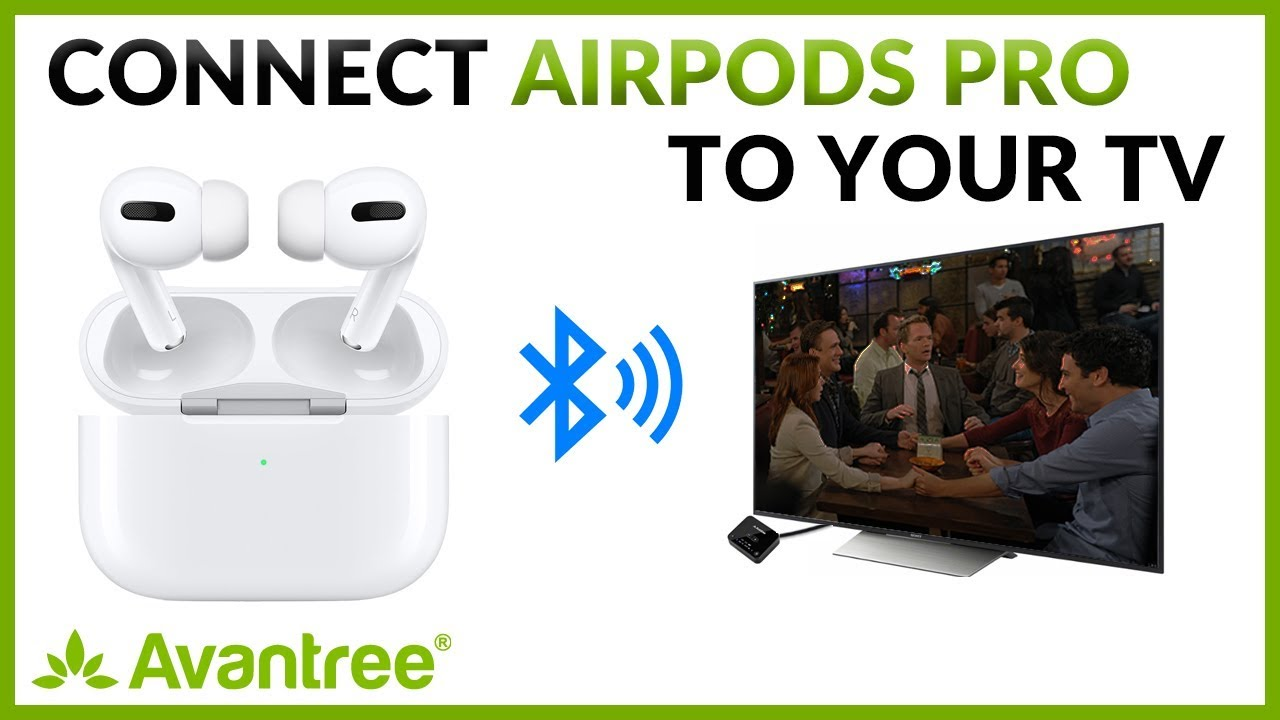 How To Watch Tv With Airpods Pro Connect Airpods Pro To Tv With Volume Control Youtube