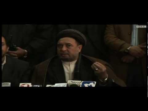 Haji Mohaqiq and Ahmad Zia Masood | فیس بوک هزاره ها