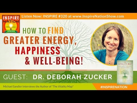 ★ DEBORAH ZUCKER: Discover Limitless Energy & Well-Being from Within | The Vitality Map
