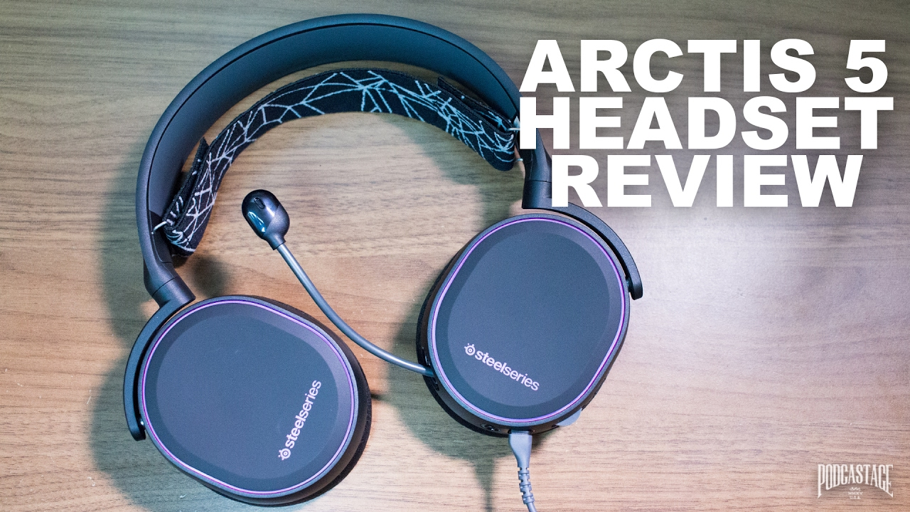 wholesale dealer a4c4c 2ac71 Steel Series Arctis 5 Gaming Headset Review / Test