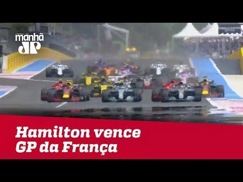 Hamilton Vence GP Da França | Máquinas Na Pan