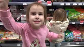 ВЛОГ Алина и Юля  Идем на Мадьярмарку Наши покупки VLOG