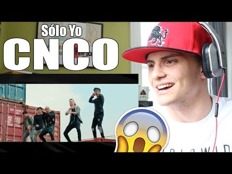 CNCO - Sólo Yo REACTION