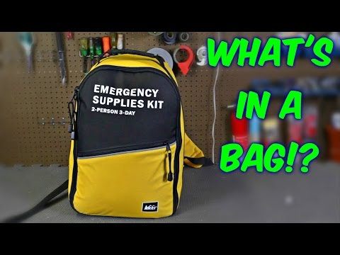 WHAT'S IN THE BAG!?
