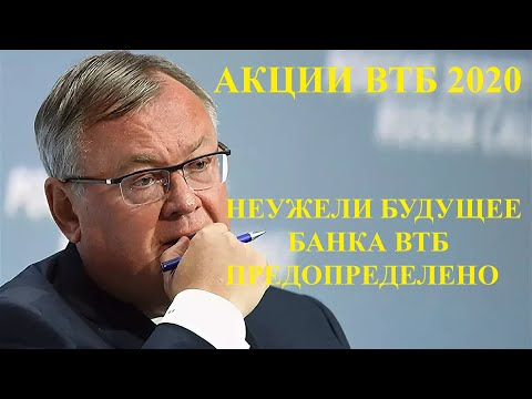 ПРОГНОЗ ПО АКЦИЯМ ВТБ 2020
