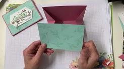 Videotutorial Faltkarte mit Gutschein- oder Geldfach