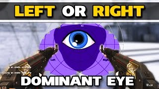 RIGHT OR LEFTHANDED VIEWMODEL? What is your dominant eye? CSGO Tutorial
