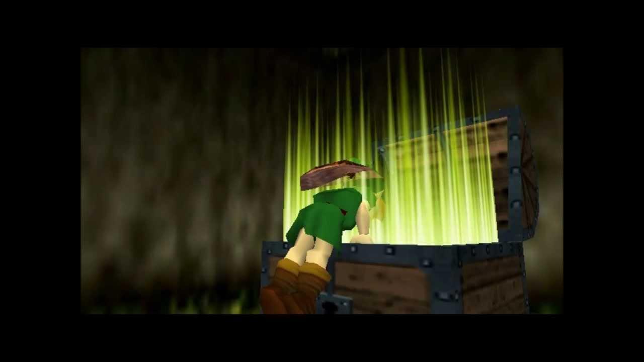 Open Treasure Box Item Catch The Legend Of Zelda