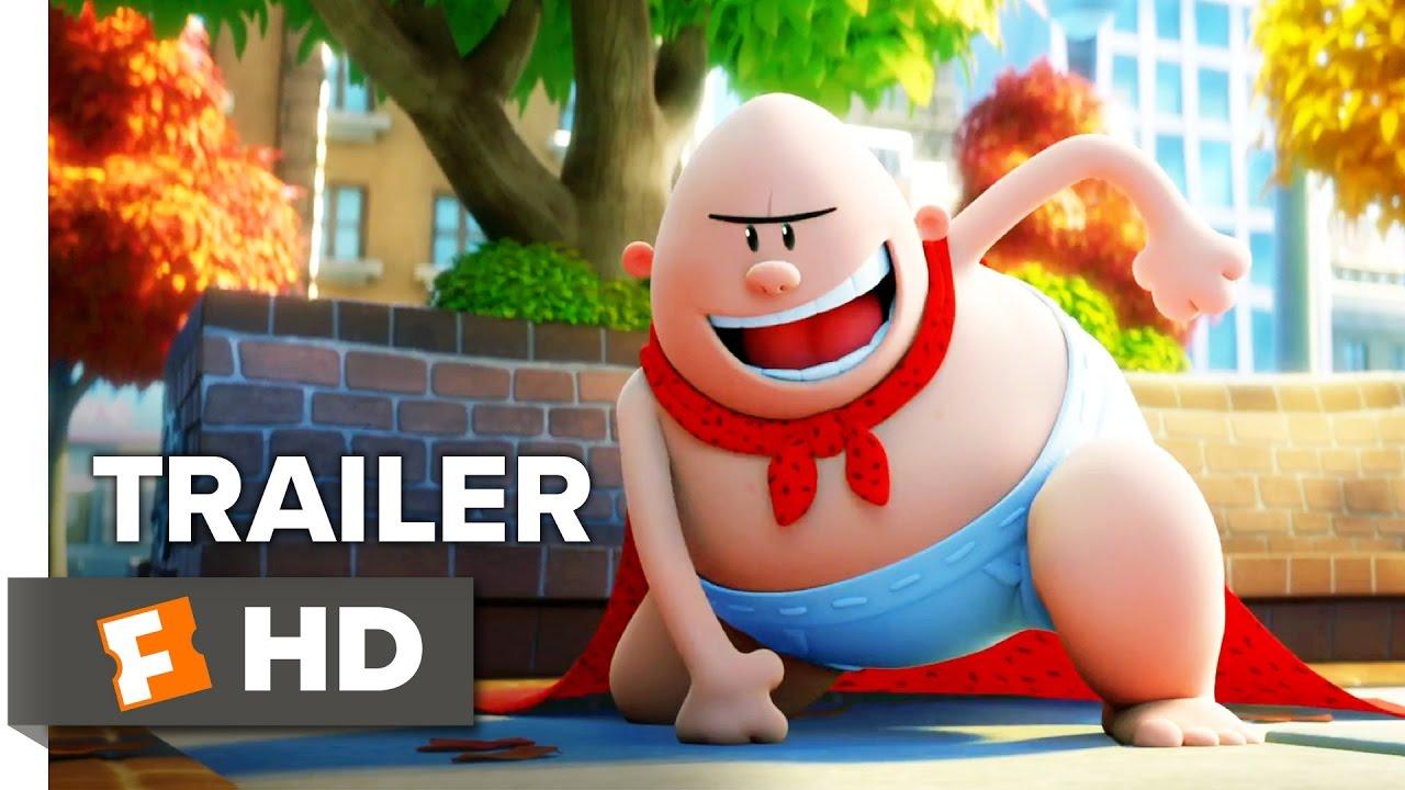 Captain Underpants Trailer