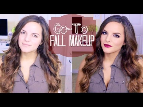 My GO-TO Fall Makeup Look!
