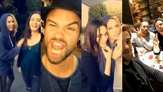 THE ORIGINALS SEASON 5 & 4 BEHIND THE SCENES | PHOEBE TONKIN, DANIEL GILLIES & NATHANIEL BUZOLIC