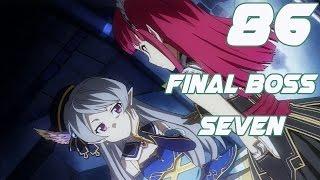Sword Art Online Lost Song Walkthrough Gameplay Part 86  - Final Boss Seven