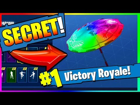 *NEW* How To Get COLOR CHANGING UMBRELLA In FORTNITE: Battle Royale (EPIC!)
