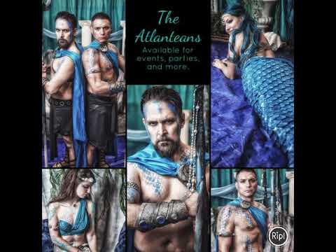 Moon Mermaid and the Atlanteans!